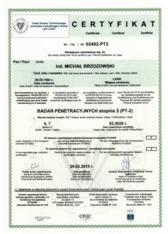 Certyfikat MB 800